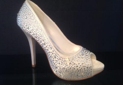 Diamanté Shoe 10cm Heel