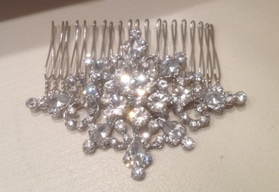 Jewelled Hair Comb